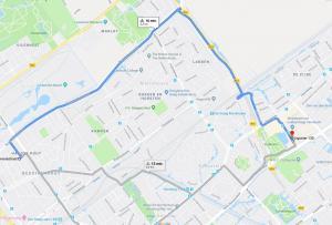 met-fiets-van-theresiastraat-naar-re-clinic